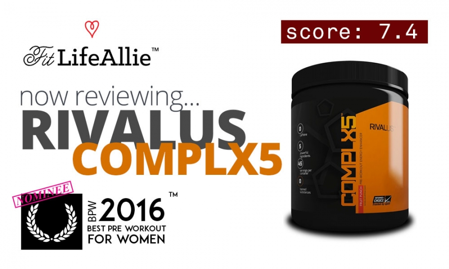 Rivalus Complx5 Stim Free Pre Workout Review: Does it Work?