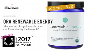 Ora Renewable Energy Review: The Prius of Pre Workout?