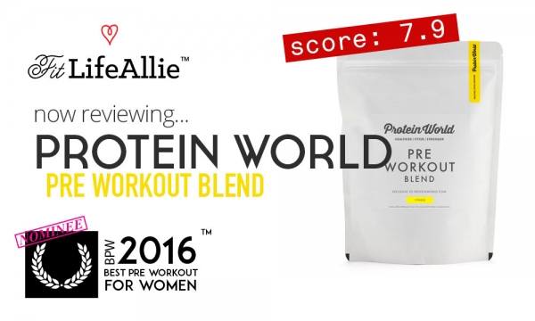 Protein World Pre Workout Review: DAA is in it, so I'm Out
