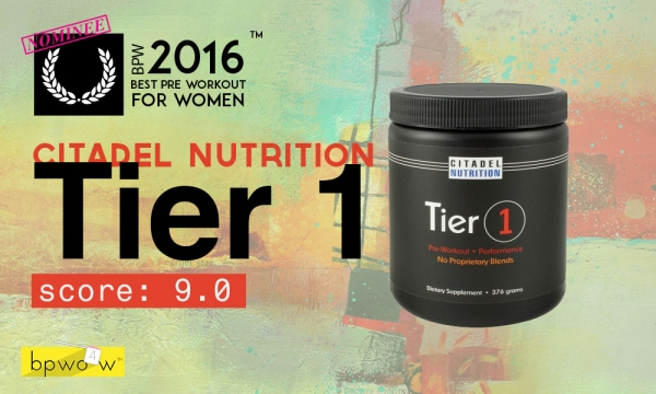 My Citadel Nutrition Tier 1 Review: Sometimes Simple is Best