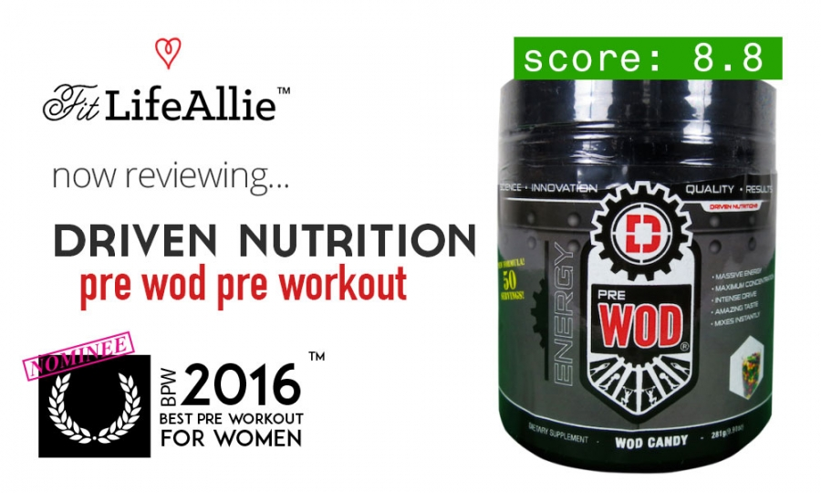 Driven Nutrition Pre-Wod Review: Not Just for Crossfitters?