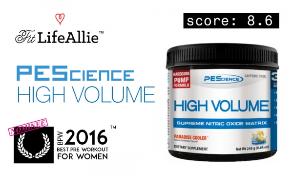 PES High Volume Review: Get That Pump, Bro