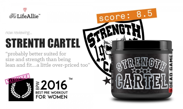 Strength Cartel Pre Workout Review: Not Really My Scene