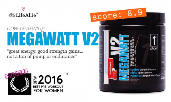 MegaWatt V2 Pre Workout Review: A Solid Effort by 1st Phorm