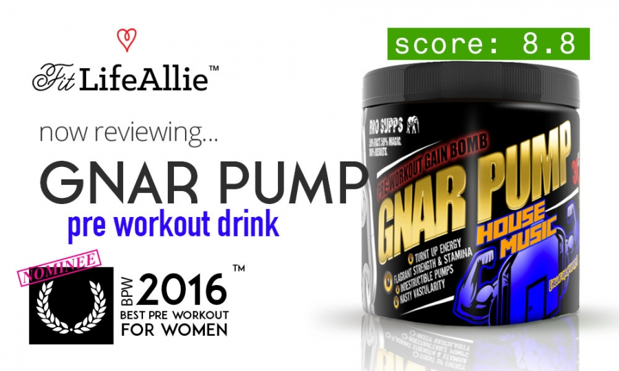 Gnar Pump Review: Bro Supps Pre Workout is Actually Good!