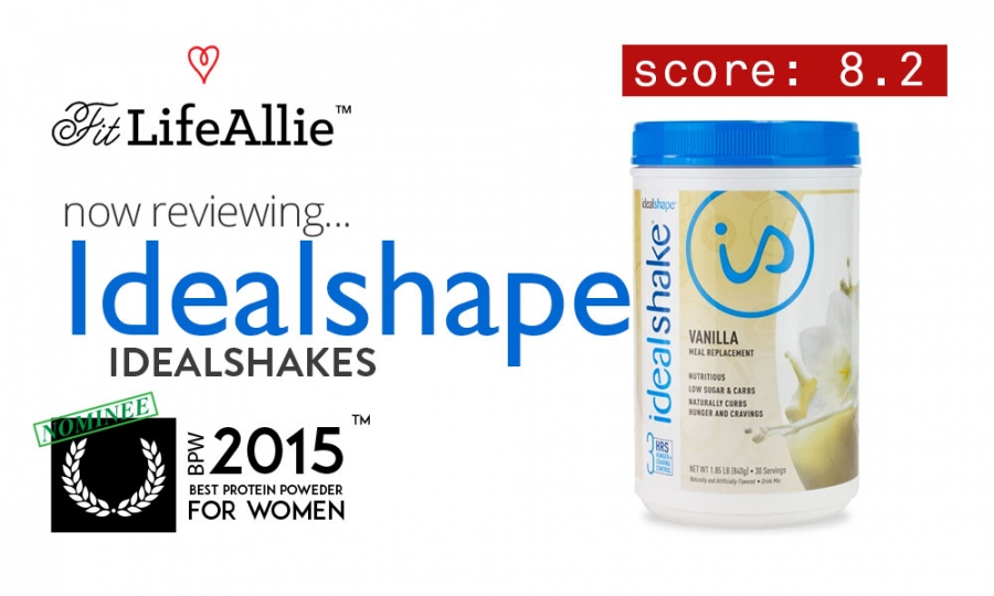 Idealshape idealshake review just not enough protein for me
