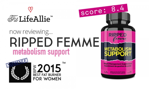 REVIEW: Ripped Femme Metabolism Support Works. Kinda.