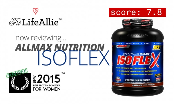 Allmax Nutrition Isoflex Protein Review: Spiked & Overpriced