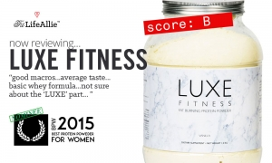 LUXE Fitness Protein Review: Seems Pretty Average to Me?