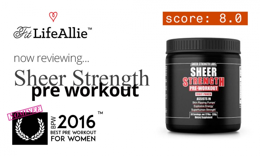 Sheer Strength Labs Pre Workout Review: Amazon's Loser?