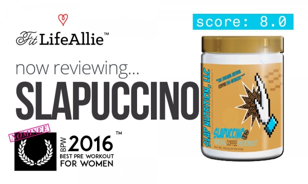 Slap Nutrition Slapuccino Pre Workout is Pure Awesomeness.