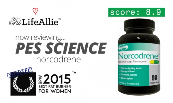 My PES Science Norcodrene Review: Above Average Fat Burning