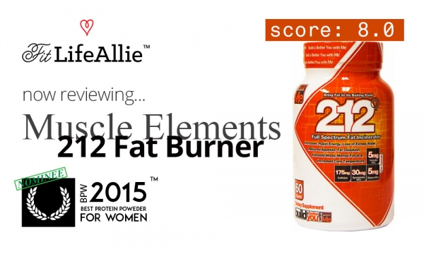 Muscle Elements 212 Fat Burner: Such A Boring Product