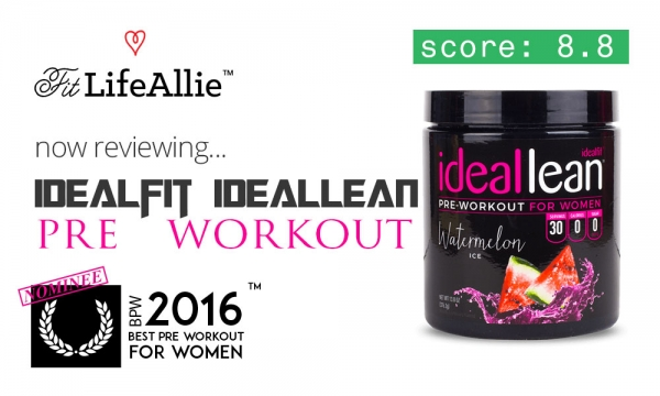 Idealfit IdealLean Pre Workout Review: Good While it Lasts