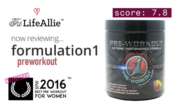 Formulation1 Pre Workout Review: A Strangely Good Booster
