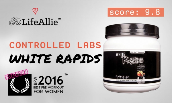 Controlled Labs White Rapids Review: My New Favorite Pre Workout