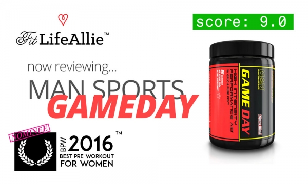 MAN Game Day Pre Workout Review: Gives You Scary Energy