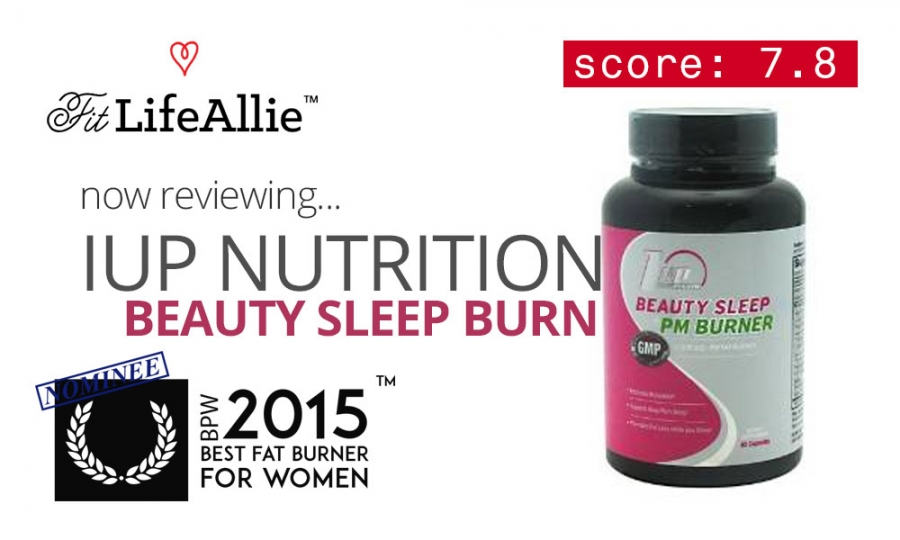 1Up Nutrition Beauty Sleep PM: Burn Fat in Your Sleep? Ok.