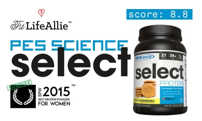 PES Select Protein Review: Average in the Best Way Possible.