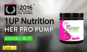 1Up Nutrition Her Pro Pump Review: Tastes Good, Performs Ok