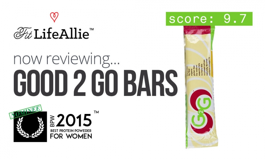 Good 2 Go Protein Bar Review: Love at First Bite.