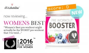 Women's Best Pre Workout Booster Is Actually the Worst.