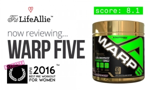 Adaptogen Nutrition Warp 5 Review: A Plain Old Pre Workout