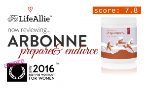 Arbonne Phytosport Prepare and Endure Review: Just No.