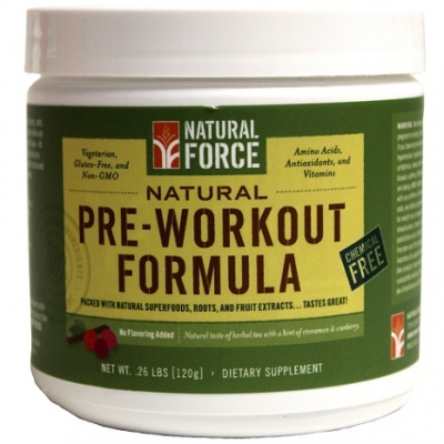 Natural Force RAW Tea Pre Workout Review