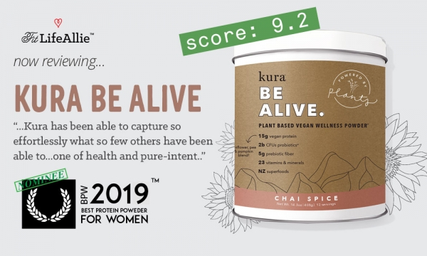 KURA Nutrition 'Be Alive' Review: This Stuff Freakin' ROCKS