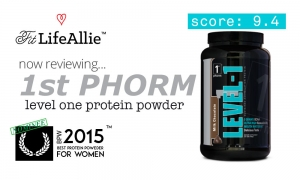 1st Phorm Level-1 Protein Review: Two Thumbs Up From Allie!