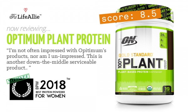 Full Review: Is Optimum's Gold Standard Vegan Protein Great?