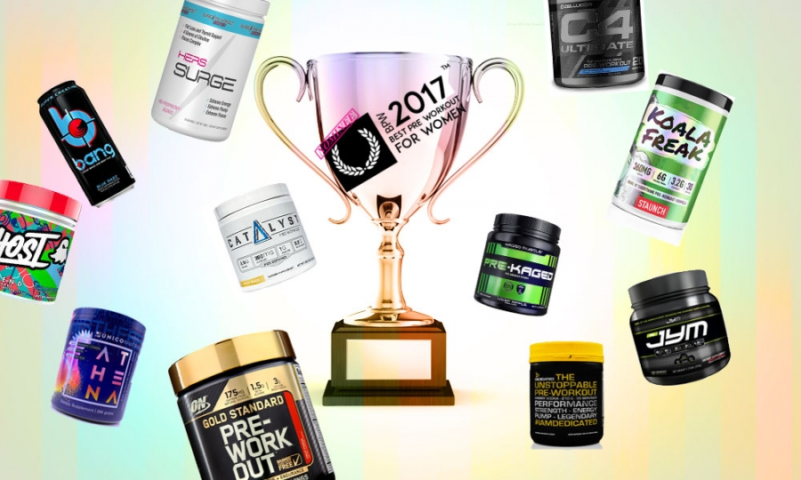 A Dozen Pre Workouts for Women you MUST Try in 2017.