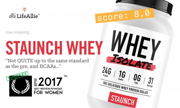 Staunch Whey Isolate Review: Is Calum's Protein A Winner?