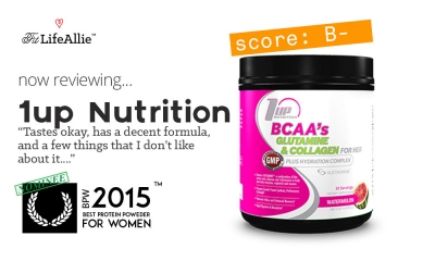 1Up Nutrition Her BCAA Review: Just Fine. Not Great. Fine.