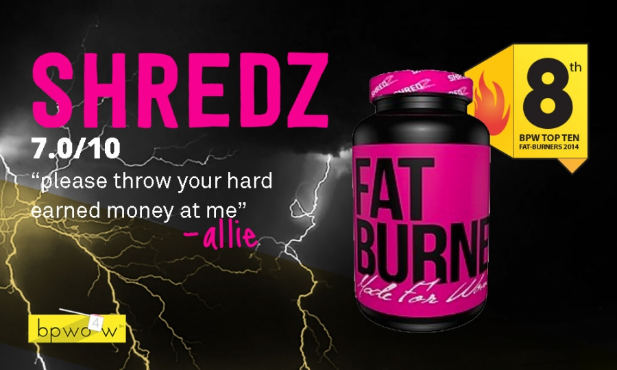 Shredz Fat Burner Review As Good As It Looks On Instagram