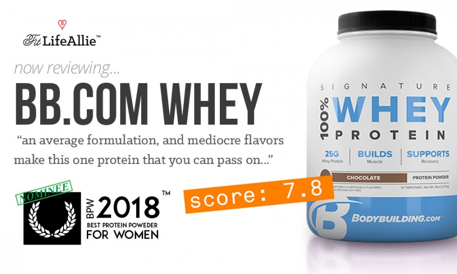 My Bodybuilding Signature Whey Review No Thank You