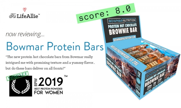 Bowmar Protein Brownie Bars: Great Texture, but Over-Priced?
