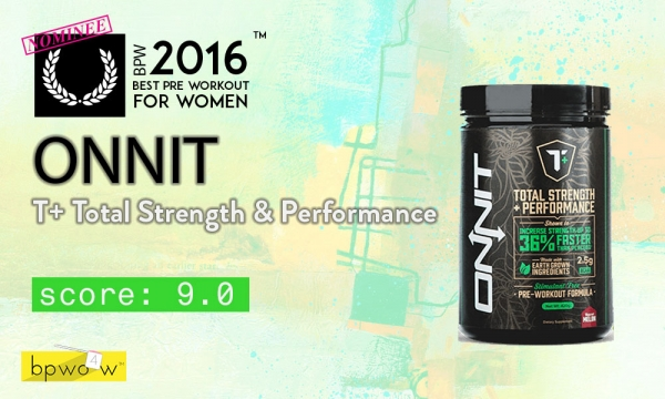 Onnit T Plus Pre Workout Review: This Stuff is Weird. But Strangely Good.