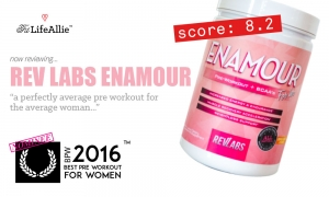 Rev Labs Enamour Review: A Perfectly Average Pre Workout?