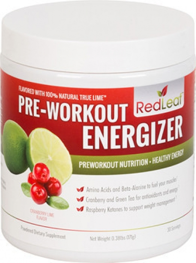 Red Leaf Pre Workout- Cranberry Lime!