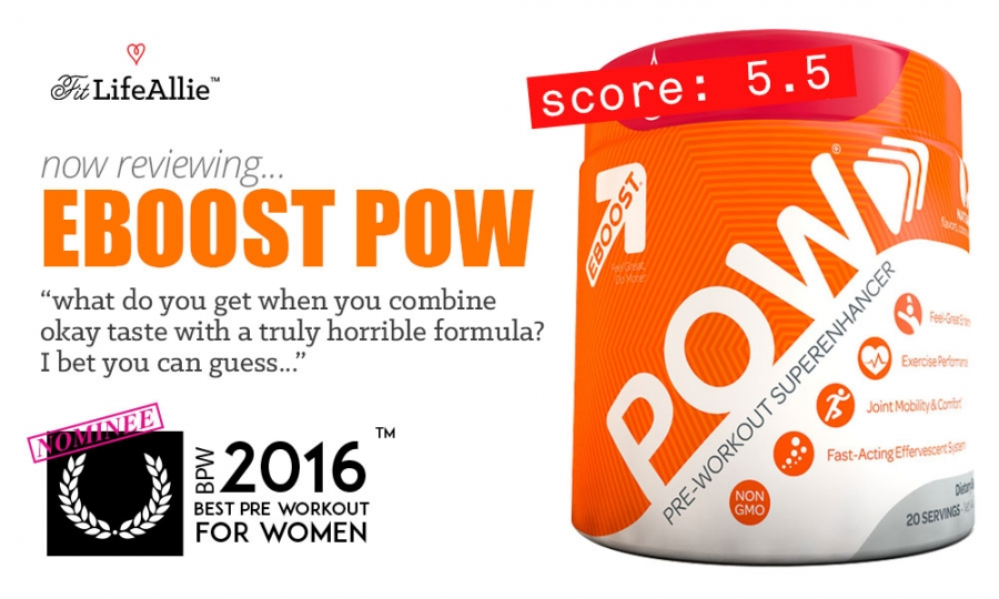 REVIEW: Is EBoost Pow Pre-Workout an Epic Failure?
