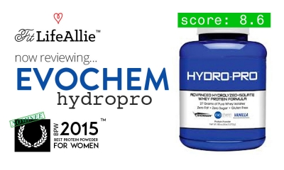 Evochem Hydro-Pro Protein Review: Great Macros, Ugly Jar