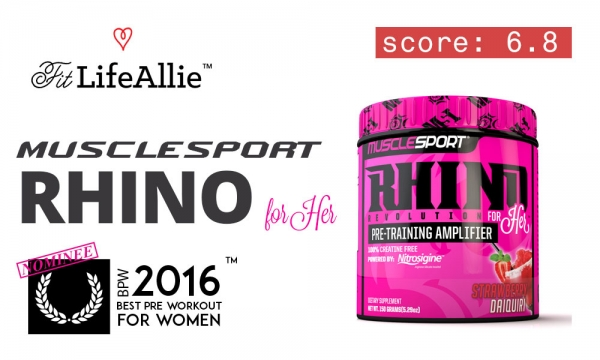 MuscleSport Rhino For Her: Good Looking But Dangerous