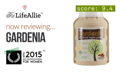Body Nutrition Gardenia is the Best Tasting Vegan Protein