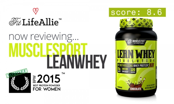 MuscleSport Lean Whey Review- Tasty, But Overpriced IMO