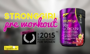 StrongGirl Pre Workout Review: Pretty Face, Crappy Performance