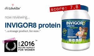 Invigor8 Protein Review- NOT worth the Premium Price IMO..