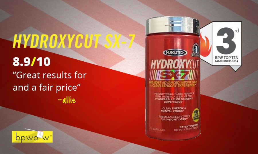 hydroxycut sx 7 reviews
