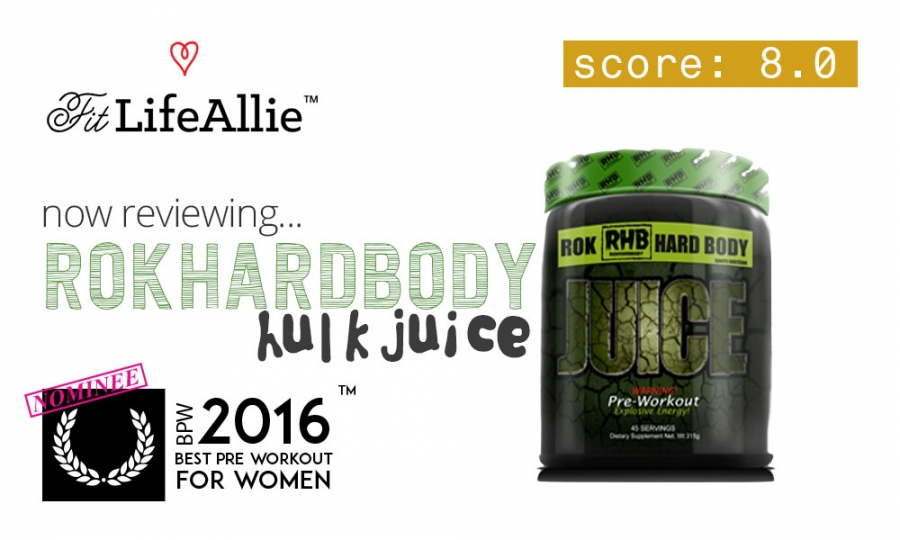 RokHardBody Hulk Juice Review: I Went Crazy in the Gym